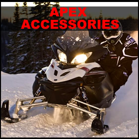 Yamaha Apex Accessories-Windshields-Fuel Cans-Storage covers and more.