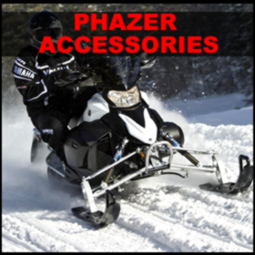 Yamaha Phazer snowmobile accessories for sale- all years