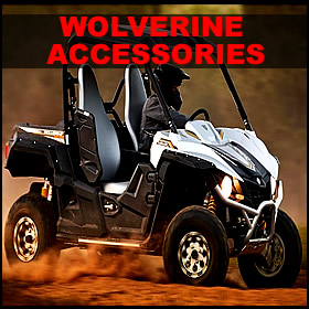 Yamaha Wolverine Accessories for sale